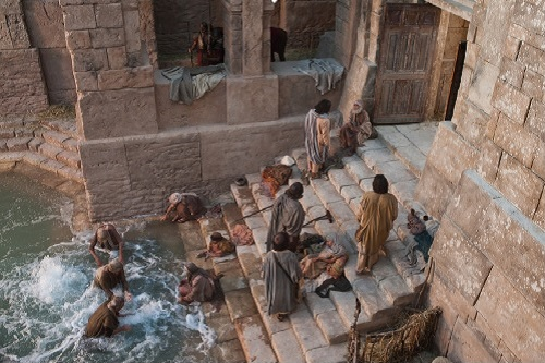 A Man Healed at the pool of Bethesda