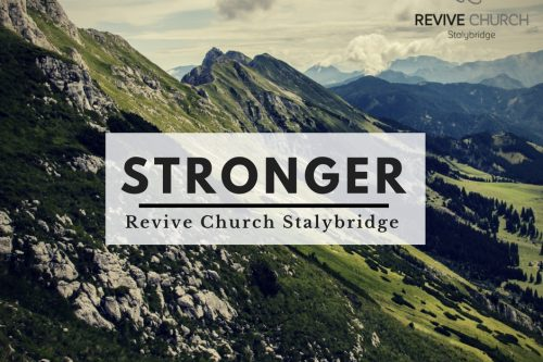 Stronger in Discipleship