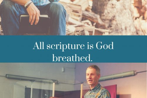 All scripture is God breathed